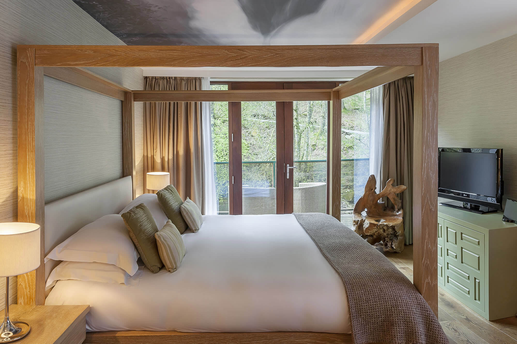 The Waterside Hotel Rooms at The Langdale Hotel & Spa