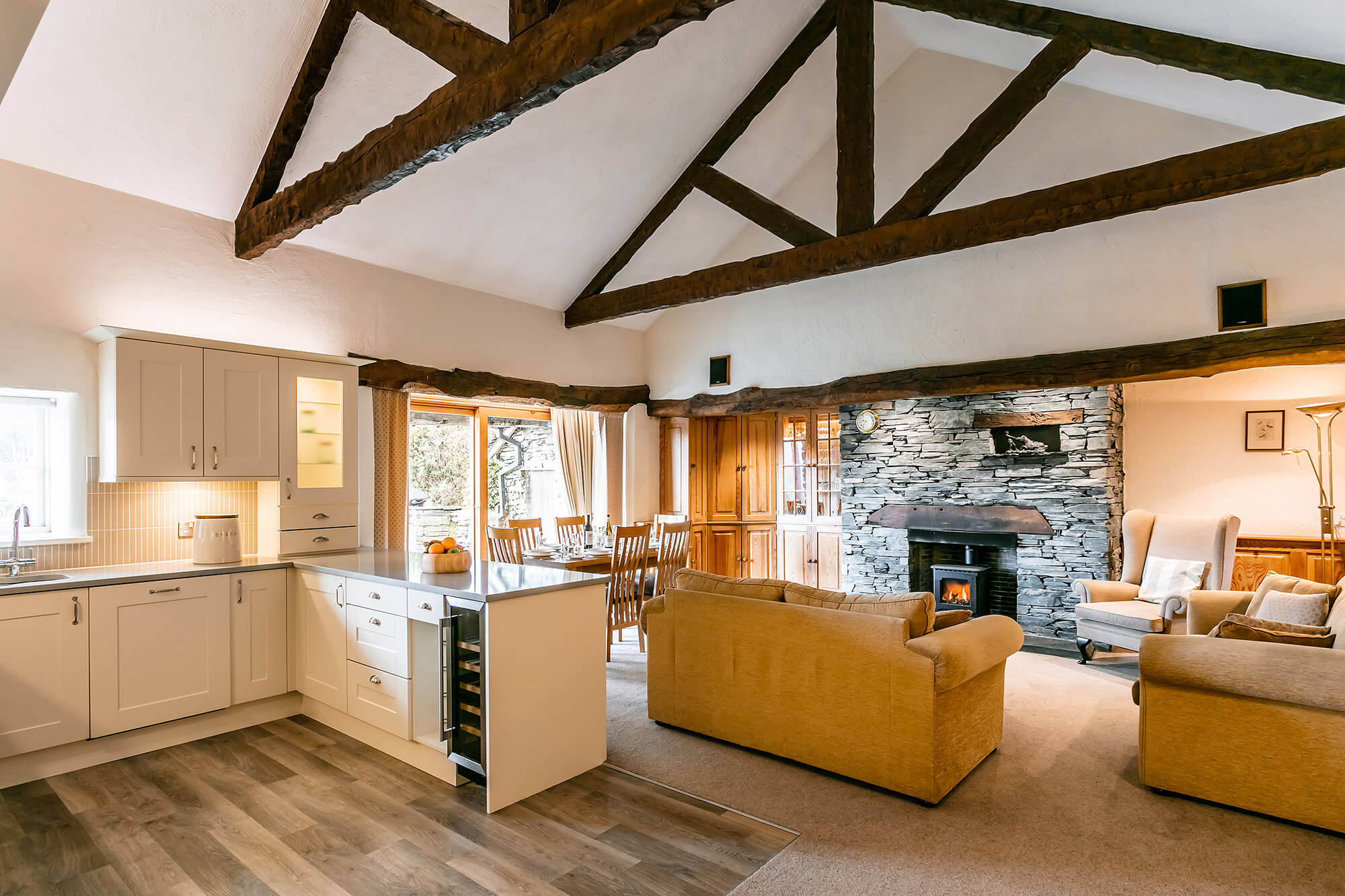 Elterwater Barn - self catering holidays at The Langdale Estate