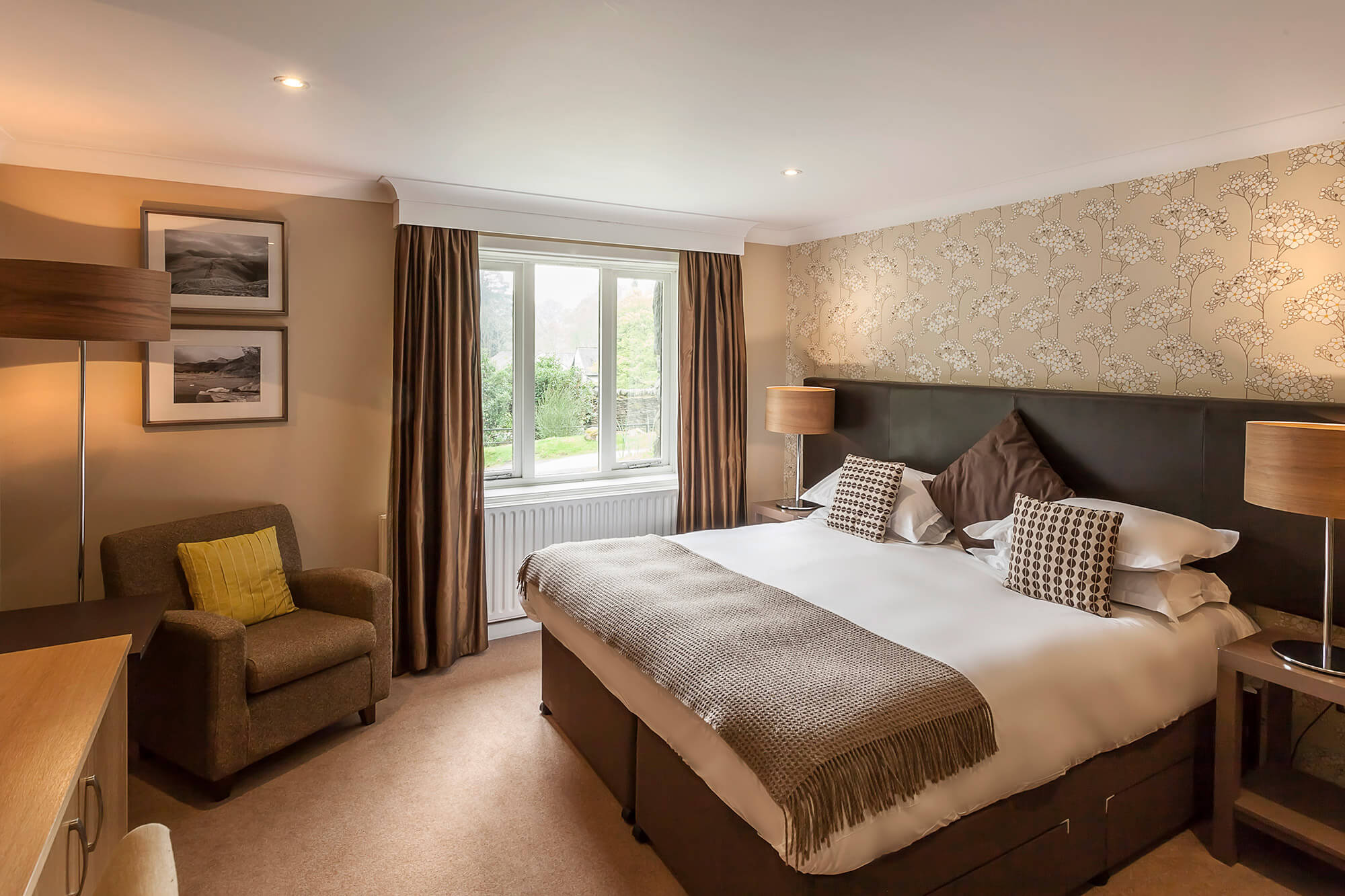 Family Room at The Langdale Hotel & Spa in the Lake District