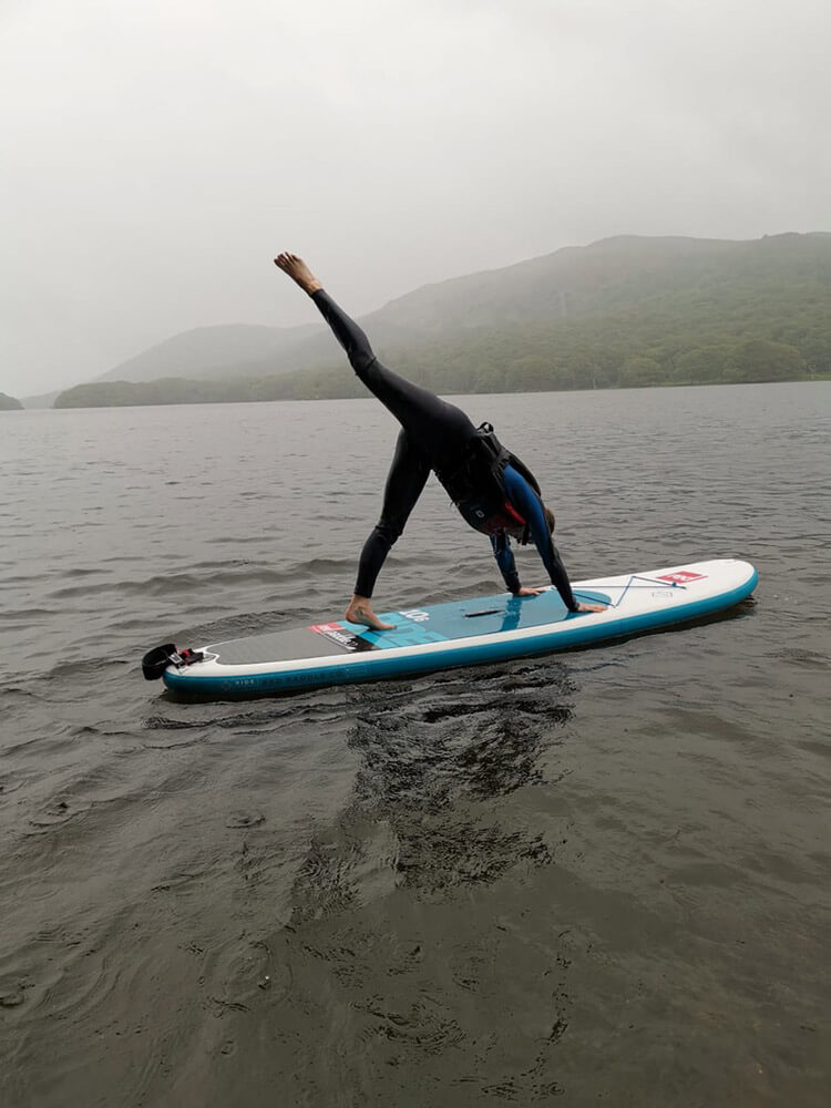 paddleboarding SUP in the Lake District - The Langdale Hotel & Spa